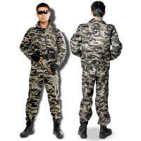 上海军训迷彩服厂家 加工生产青浦学校军训迷彩服