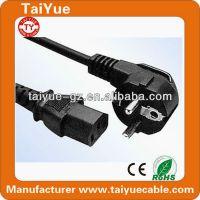 供应厂家批发 欧标线 优质品字尾电脑电源线插头线 主机使用1.5米