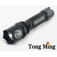 供应统明 J6 LED强光手电品牌推荐 充电聚光 远射套装 车充探照灯手电