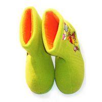 童 靴_工艺鞋—棉布童靴