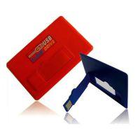 透明卡片u盘 订做广告宣传赠品名片U盘16g 银行卡式U盘 usb card