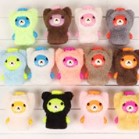 G020 立体小熊系列热水袋毛绒水壶迷你暖水袋