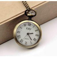爆款项链表 复古怀表批发厂家直销罗马手表怀表项链装饰挂件