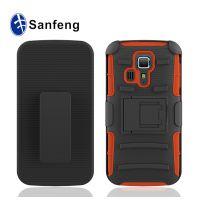 背夹支架三合一手机保护套 京瓷HydroIcon/C6730 pc+硅胶手机壳