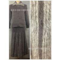 外贸厂家直销批发兔毛针织大码女装松紧长裙鱼尾裙拼色 保暖性好