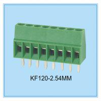 厂家供应批发螺钉式接线端子KF120 间距2.54mm环保 铜方块