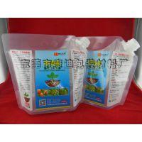 甲壳素植物壮根肥料吸嘴袋 33MM口径 4L容量 新型肥水包装