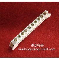 优质供应桥型10孔铜端子,零线端子,接线端子10孔