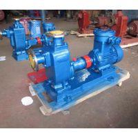 自吸泵ZW80-65-25-7.5kw无堵塞排污泵型号