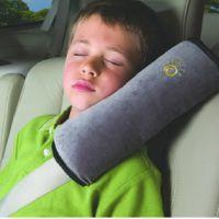 汽车安全带护肩  灰色 车用儿童婴儿安全带睡枕护肩套 汽车用品