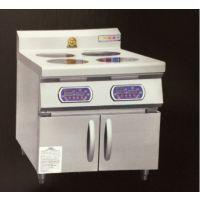 鼎龙柜式四头电磁煲仔炉 DL-B-3.5KW X4-EXC 柜式四头电磁煲仔炉