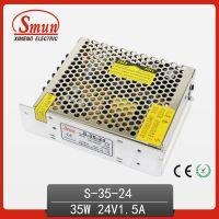 供应24V 1.5A单组输出开关电源 35w开关电源 LED开关电源