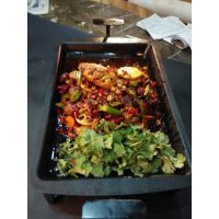 供应南京炉鱼餐厅圆形烤鱼炉南京UFO烤鱼设备