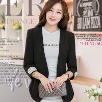 韩国女装秋冬新款小西装小西服外套一件代发 钉珠气质小外套