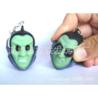 挤压玩具/凸眼玩具钥匙扣/塑胶公仔钥匙扣