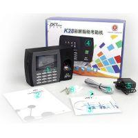 中安博AK-0028指纹考勤机联网考勤机 U盘下载彩屏考勤指纹机