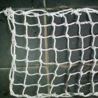 供应厂家专业批发白色尼龙材质安全沙井防护网|下水道尼龙沙井防护网