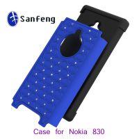 【诺基亚机型n830】Nokia n830三合一镶钻满天星保护壳 批发