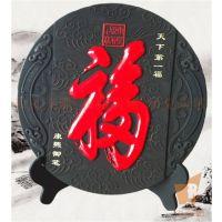 炭雕看盘定制,西安炭雕工艺摆件,商务炭雕礼品价格