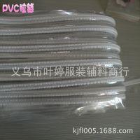 【叶婷拉链】 透明PVC拉链  手提袋专用拉链 厂家直销