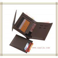 供应2014新款男式钱包真皮正品 男 长款商务多功能手拿钱包手机包男士