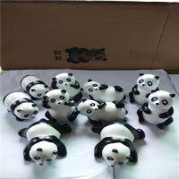 大量批发熊猫造型玻璃钢雕塑