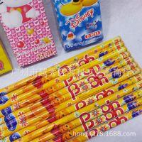 迪士尼卡通12支装木头铅笔 卡通米奇KT2B铅笔 学生铅笔批发