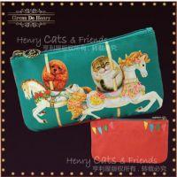 【亨利屋家族】 马戏团系列-帆布笔袋