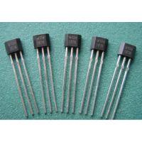 供应WSH136  线性霍尔元件 TO92封装 感应线性度 3mV/G