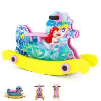 迪士尼正版玩具 男孩赛车总动员女孩公主木马 EVA材料摇马yp010