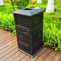 东莞厂家供应垃圾箱 垃圾桶 环卫垃圾桶 铸铝垃圾桶