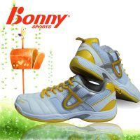 正品包邮新款波力Bonny107羽毛球鞋男鞋耐磨透气防滑羽毛球鞋