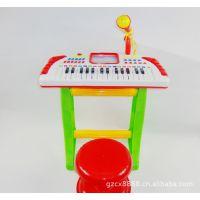 多功能音乐电子琴 带麦克风 架子 登子儿童益子音乐启蒙 玩具