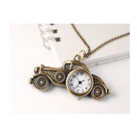 复古表复古手表装饰挂件项链挂件 复古怀表批发  老爷车表