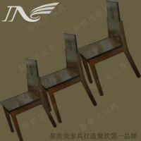 供应时尚新款 实木椅子 水曲柳椅子 聚焦美实木家具厂家