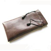 东莞手袋厂家 供应多用热销PU眼镜袋 束口眼睛袋 防水PU眼镜袋