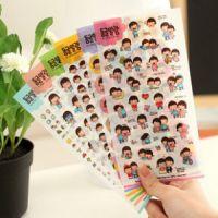 C452 童真年代PVC贴纸 日记贴 装饰贴 相册贴 6张入