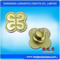 厂家生产:磨沙金属胸针,胸章,金属胸牌,可以DIY订制LOGO