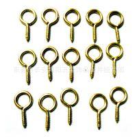 厂家批发各款金属羊眼钉,螺丝钉,羊眼圈,尖嘴羊眼钉,平头羊眼