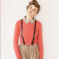 新款羊毛混纺针织衫 马卡龙圆领修身显瘦针织打底衫 打底衣M6303