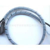 【厂家直销】 缠绕硅胶管 硅胶螺旋管 硅橡胶螺旋套管