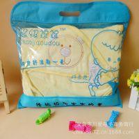 批发 仿丝棉婴儿抱被 秋冬厚棉抱毯 天鹅绒新生儿包被 婴幼儿用品