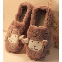 厂家直销 新款冬季保暖情侣棉拖鞋