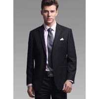 厂家 批发上班族商务男黑色单件西装外套 销售经理 毕业面试专用