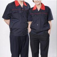 夏季工程服男女劳保服 短袖工作服工服套装