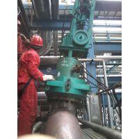 化工厂高温高压渣油管道封堵检修 115202473779