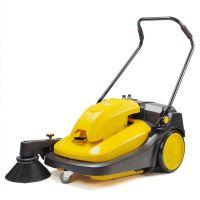 学校清扫落叶用电动扫地机CJS70-1 驰洁电瓶扫地机