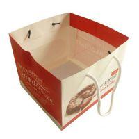 专业定制 日式起司蛋糕纸盒加手提袋 批量生产  批发
