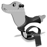 2014新型公园PE板弹簧摇马 小区PE板摇摇乐 海豹摇乐 广州供应