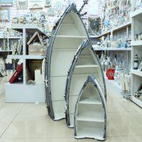 三件套船柜/木质展示柜/装饰柜 地中海家居